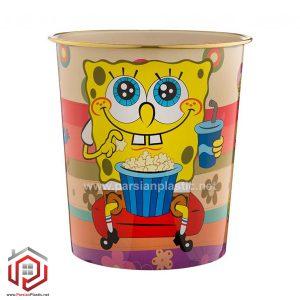 سطل کاغذ 5 لیتری کودک لیمون