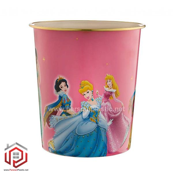 سطل کاغذ دخترانه لیمون