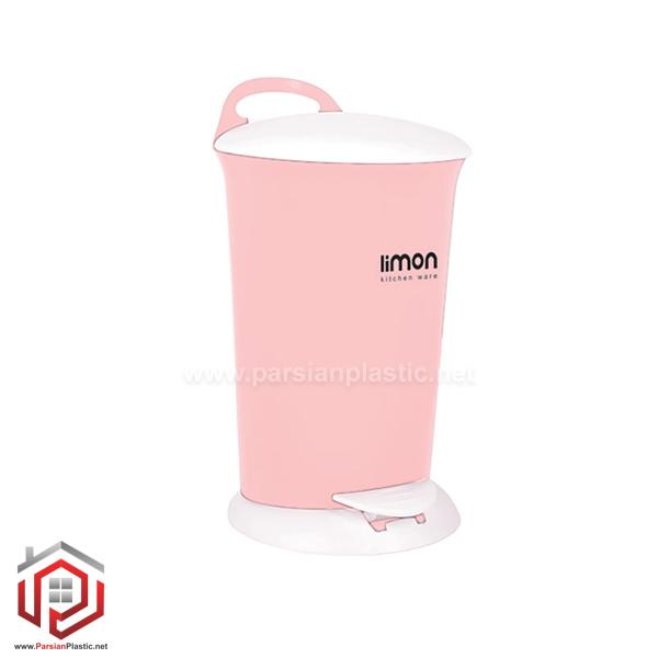 سطل پدالی 4/8 لیتری لیمون