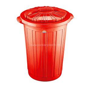 سطل زباله قرمز ناصر