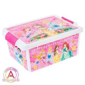 جعبه طرح دار دخترانه هوم کت