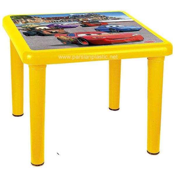 میز کودک عکس دار 928 ناصر پلاستیک