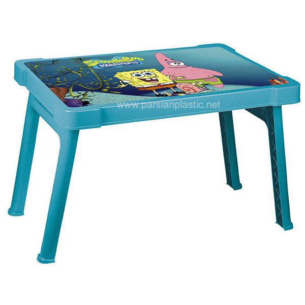 میز کودک عکس دار 927 ناصر پلاستیک