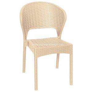 صندلی بدون دسته حصیر بافت ناصر 972