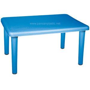 میز مستطیلی کودک ناصر پلاستیک