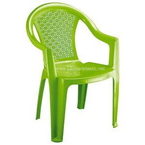 صندلی دسته دار سبز ناصر 812