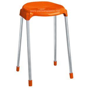 چهارپایه پایه فلزی بلند ناصر پلاستیک