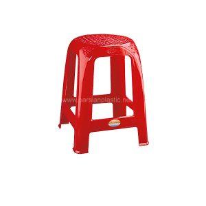 چهارپایه حصیری بلند ناصر پلاستیک