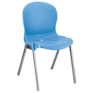 صندلی پایه فلزی آبی ناصر 980