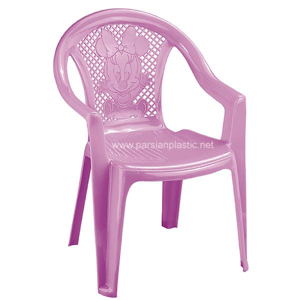 صندلی کودک میکی موس سایز2 ناصر پلاستیک