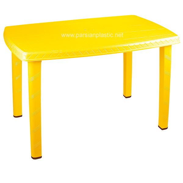 میز مستطیلی ناصر پلاستیک
