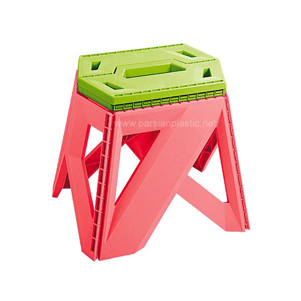 چهار پایه تاشو بلند ناصر پلاستیک