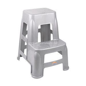 چهارپایه دو پله بلند سوپر ناصر پلاستیک