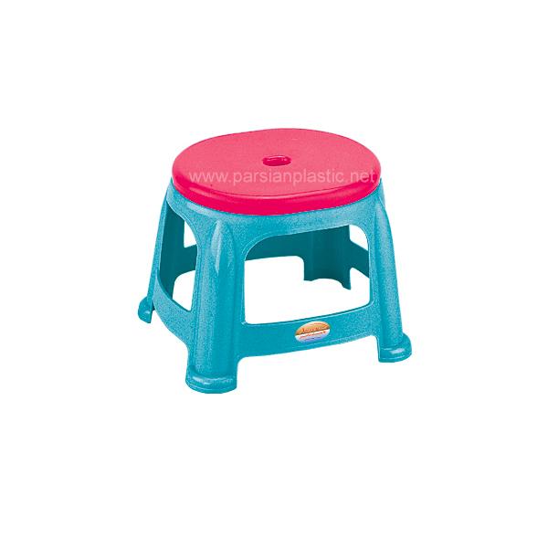 چهارپایه کوتاه دو رنگ ناصر