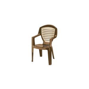 قیمت صندلی دسته دار دو رنگ ناصر 884