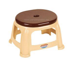 چهارپایه حمام دو رنگ ناصر