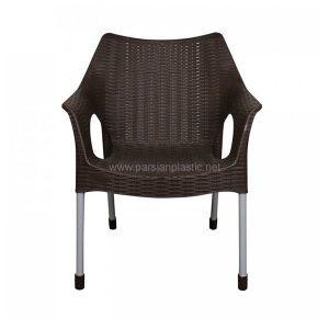 صندلی پایه فلزی حصیری ناصر 991