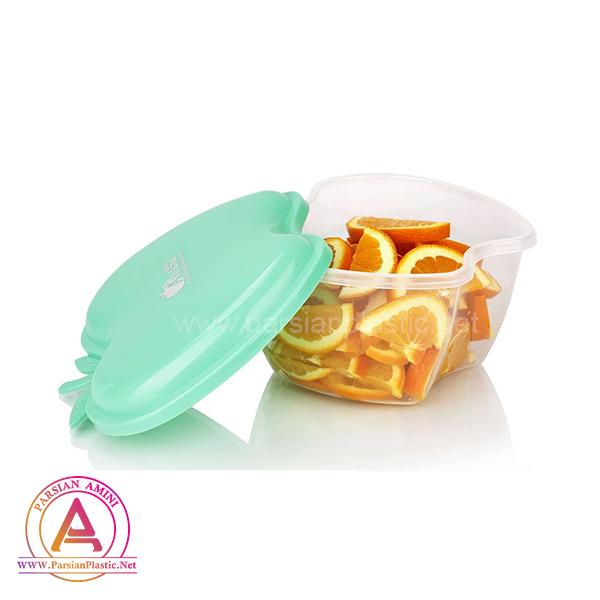 ظرف درب دار سیب اشکان پلاستیک